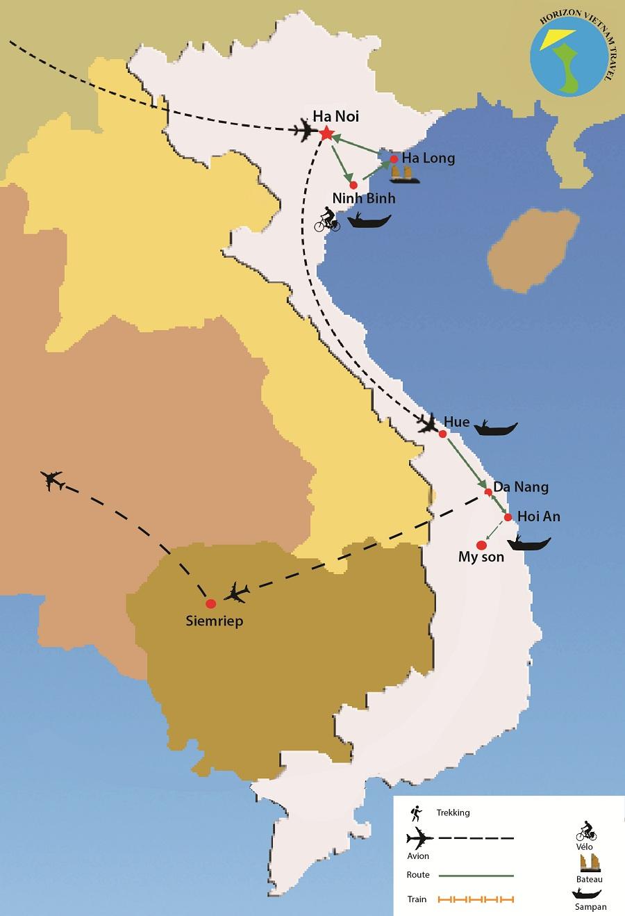 circuit vietnam cambodge 12 jours