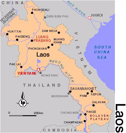 geographie-laos