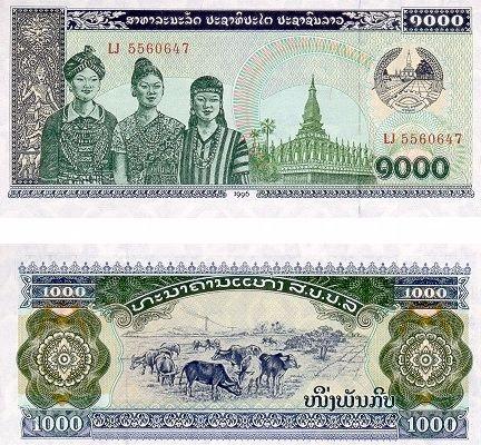 monnaie-laos
